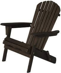 oceanic adirondack chair dark brown