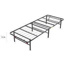 OSleep Platform 14 inch Heavy Duty Metal Bed Frame  Mattress Foundation   Retail 77 48 twin
