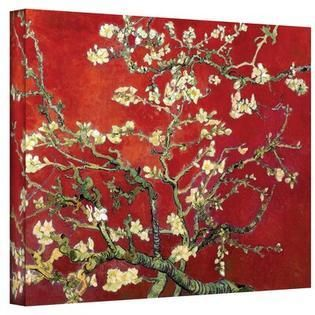Vincent van Gogh  Red Blossoming Almond Tree  Canvas  Retail 114 70