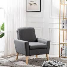 Carson Carrington lunedet accent chair grey