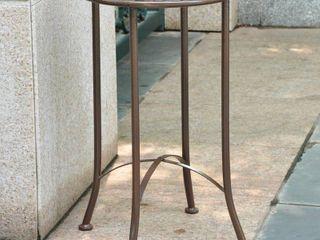 International Caravan Mandalay 16 inch Patio Side Table