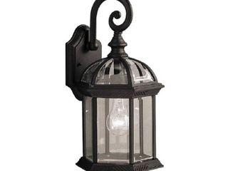 Adalyn 1 light Exterior lighting in Black Finish