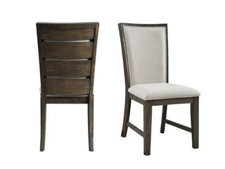 Picket House Furnishings Jasper Slat Back Side Chair Set  Retail 195 99