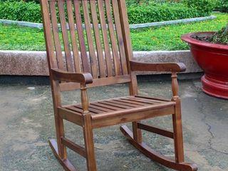 International Caravan Highland Porch Rocking Chair   Retail 168 99