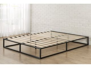 Zinus Priage by Platforma Metal 10 inch Queen Size Bed Frame only Retail 132 21