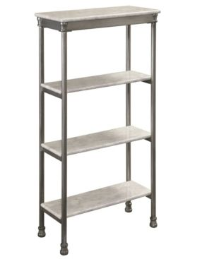 The Orleans  4 tier Shelf by Home Styles  Retail 137 99