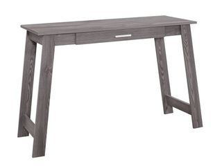 Carbon loft Kijana Grey 1 drawer 42 inch long Contemporary Computer Desk  Retail 109 99