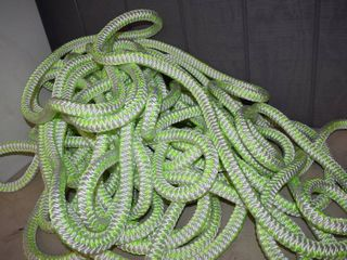 200 Foot of Rope 1 1 4  Diameter   Tow Rope  etc    Spool weighs 65 Pounds