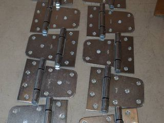 10 National Hardware Zinc Plated Gate Hinges 3 5