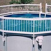 Protect A Pool Above Ground Pool Fence   8 Section Base Kit A