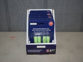32 Moonrays AA Rechargable Solar Powered Batteries