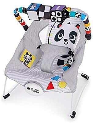 Baby Einstein BE11606 More To See High Contrast Bouncer   MISSING BAR ATTACHMENT