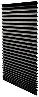 Redi Shade 1617201 Black Out Pleated Shade 36 by 72 Inch  Pack of 6