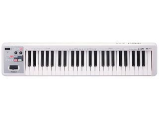 Roland A 49 lightweight 49 Key MIDI Keyboard Controller  White   MISSING All THE CORDS