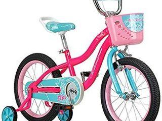 Schwinn Elm Kids Bike with SmartStart Wheels  16 Inch Wheels  Pink