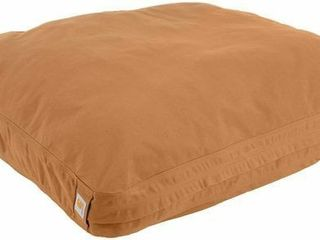 Carhartt Durable Canvas Dog Bed  Premium Pet Bed With Water Repellent Coating  large