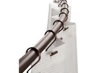 InterDesign 41  Curved Shower Curtain Rod   Bronze