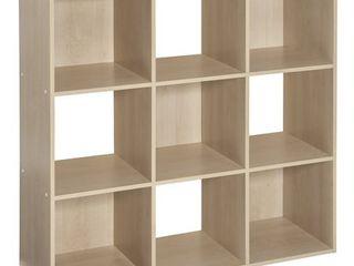 ClosetMaid 4177 Cubeicals Organizer  9 Cube  Birch