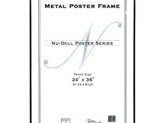 MCS 65594 Original Poster Frame  24 by 36 Inch  Black  2 Pack