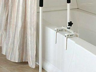 Sammons Preston 53286   Floor To Tub Bath Curved Grab Bar  34