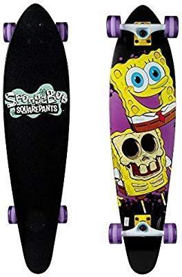 Kryptonics Spongebob 36  longboard Complete Skateboard
