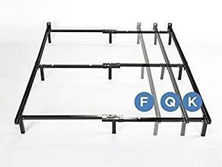 Zinus Compack Adjustable Steel Bed Frame  Twin Full Queen