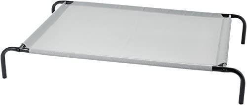 Amazonbasics Elevated Cooling Pet Bed  l  Grey Grey