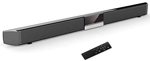 SR100 Plus Bluetooth Soundbar Home TV Speaker Wireless Subwoofer Remote Control Stereo Surround Sound 4   15W Speakers for Home Theater AUX IN Coaxial Optical Speaker  MISSING REMOTE
