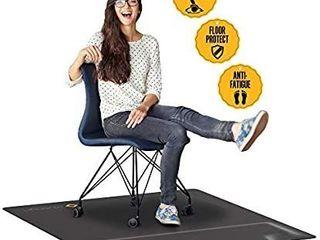 New  Mushyn Office Chair Anti fatigue Mat  sit   Stand  W foot Rest