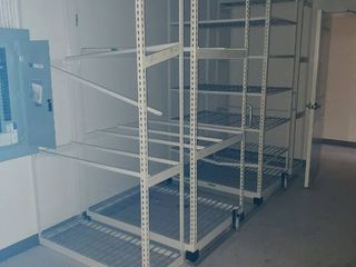 Rolling storage rack system