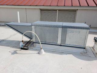 Gas make up air unit