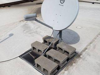 Muzak satellite dish
