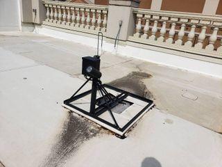 Rooftop spotlight