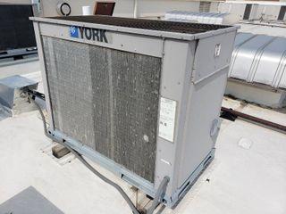 York PC090 condensing unit air handler