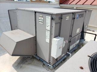 York Predator 10 ton gas air handler unit