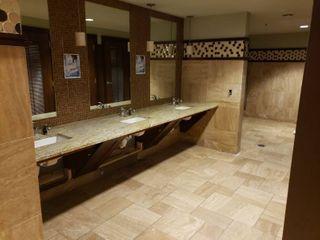 Contents of mens bathroom