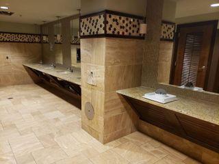 Contents of women s bathroom