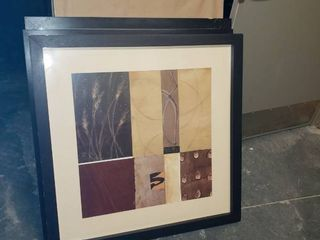 lot  4  framed art