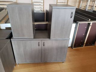 large lot of display cabinetry