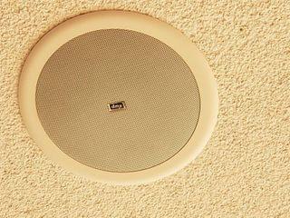 2  ceiling speakers