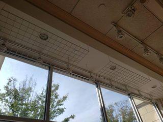 lot  5  hanging storage racks