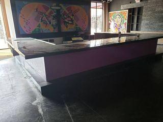 large U shaped bar