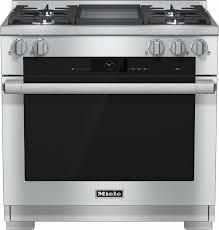 Miele HR1936G - 36-inch Freestanding Dual-Fuel Range. 36-inch Freestanding Dual-Fuel Range Retails $10,099