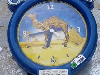 Camel clock battery operated