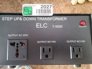 Step up or down transformer