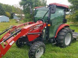 2013 Case-IH Farmall Model 50B MFWD Utility Tractor w/Case-IH Model L350 Loader