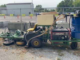 John Deere Ez Trak & All Power 7500 Watt Generator
