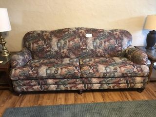 Matching couch  loveseat  chair and ottoman