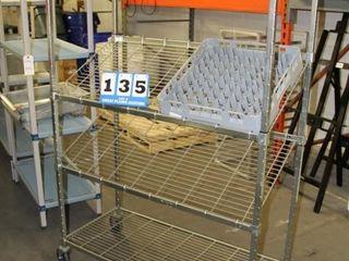 Dish rack Cart