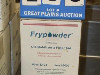 Fryer Filter Powder